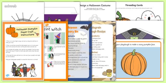 Top 10 Childminder Halloween Activity Pack