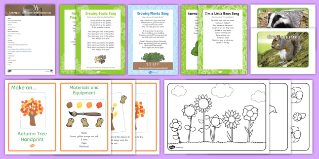 Nature-Themed Intergenerational Toddler Singing Group Resource Pack - Intergenerational Ideas, nature, singing, ideas, support, activities, care givers, activity coordina