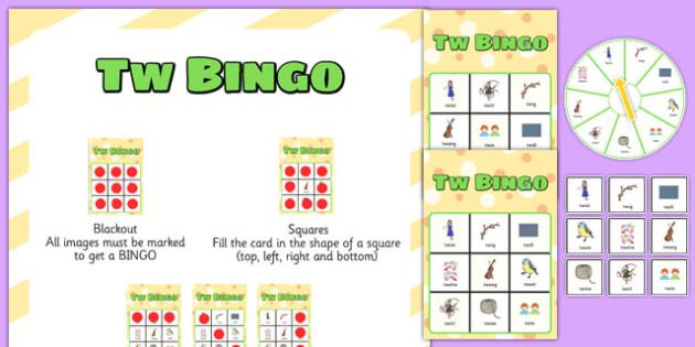 TW Spinner Bingo - tw, spinner bingo, spinner, bingo, activity, game, speech, language