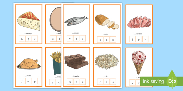 CfE  Food Peg Activity Game - French  - French Games, French Food, French peg activity, food,Scottish