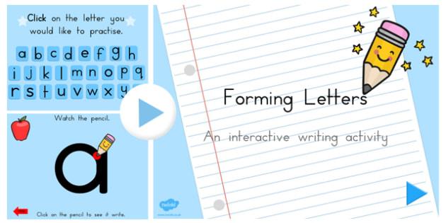 Australian Letter Formation PowerPoint - australia, letter, form
