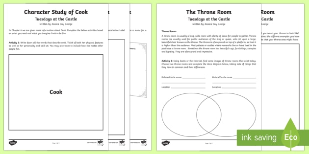 Years 3 & 4 Chapter Chat Chapters 5 to 8  Activity Pack - New Zealand Chapter Chat, Chapter Chat NZ, Chapter Chat,Australia, tuesdays at the castle, jessica d