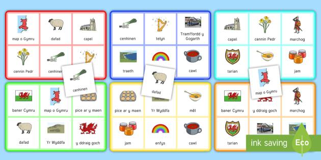 St David's Day Bingo Incidental Welsh