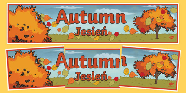 Autumn Display Banner Polish Translation-Polish-translation