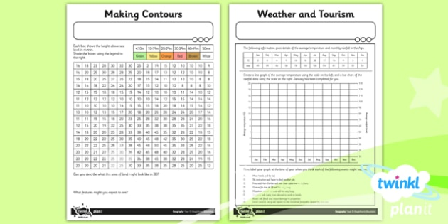 Geography: Magnificent Mountains Year 5 Unit Home Learning Tasks