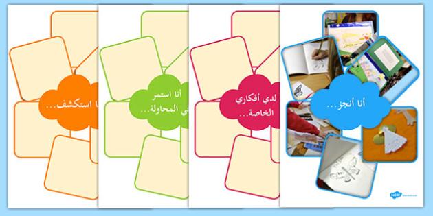 لوحات خصائص تفاعلية للتعلم