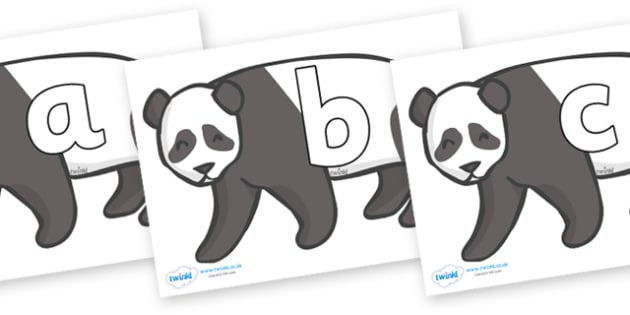 Phoneme Set on Pandas - Phoneme set, phonemes, phoneme, Letters and Sounds, DfES, display, Phase 1, Phase 2, Phase 3, Phase 5, Foundation, Literacy
