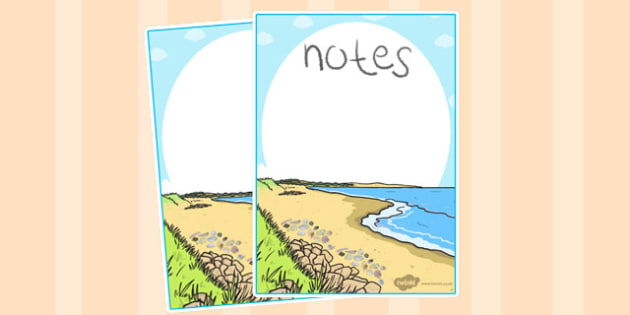 British Seashell Editable Note - british, seashell, editable