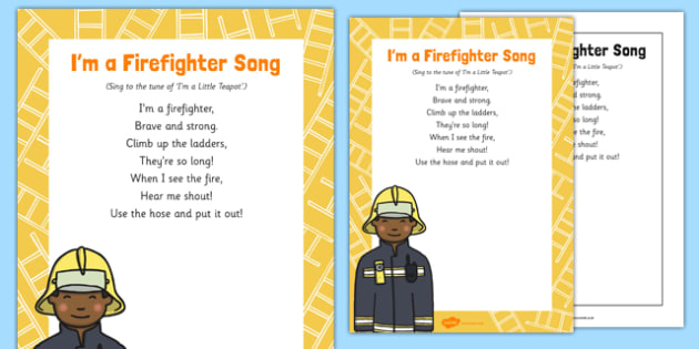 I'm a Firefighter Song