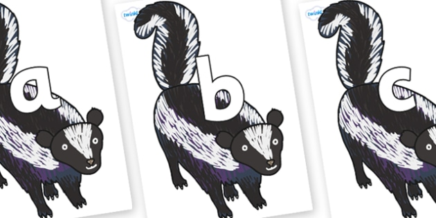 Phoneme Set on Skunk to Support Teaching on The Bad Tempered Ladybird - Phoneme set, phonemes, phoneme, Letters and Sounds, DfES, display, Phase 1, Phase 2, Phase 3, Phase 5, Foundation, Literacy