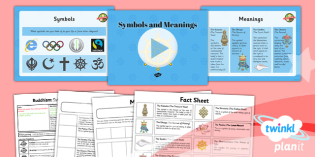 RE: Buddhism: Symbols and Meanings Year 4 Lesson Pack 6