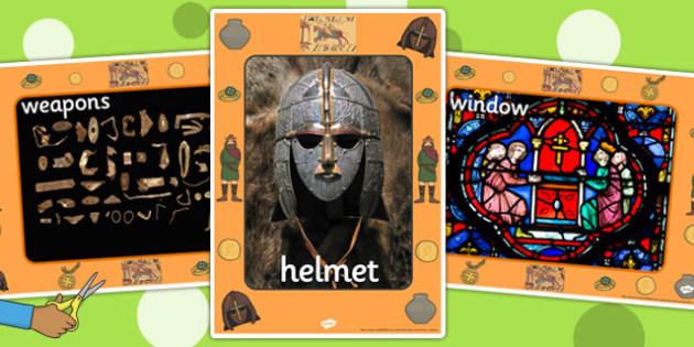 Anglo Saxons Display Photos - anglo saxon, display, photos