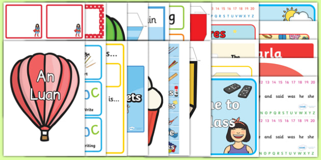 ROI Infant Back to School Class Set Up  Resource Pack