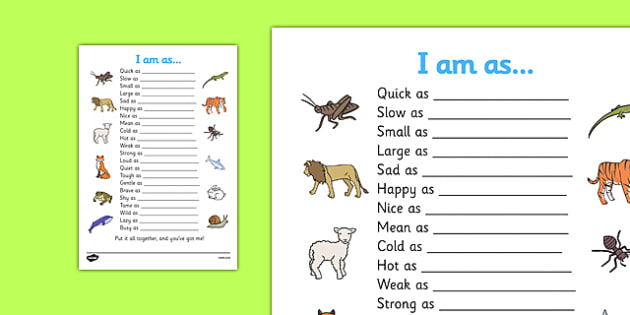 Rabbit Proof Fence Worksheet Word Simile Worksheet  Similies Simile Similies Worksheet Quick Math Worksheets Color By Number with Worksheets On Conjunctions For Grade 4 Simile Worksheet  Similies Simile Similies Worksheet Quick As A  Cricket Audrey Free Worksheets For 4th Grade Word