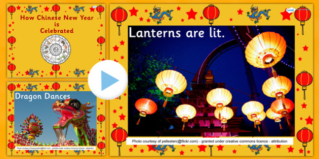 How Chinese New Year Is Celebrated Photo PowerPoint - powerpoint, power point, interactive, powerpoint presentation, how chinese new year is celebrated, chinese new year, chinese new year powerpoint presentation, photo powerpoint, photos, presentatio