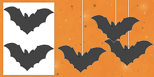 Dangly Bat Cut-Outs