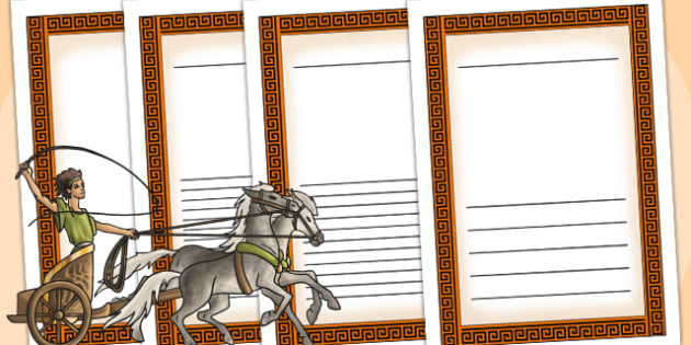 Ancient Greece Writing Frames - ancient greece, greece, writing
