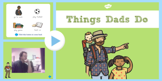 What Dads Do Video PowerPoint - australia, what, dad, do, powerpoint