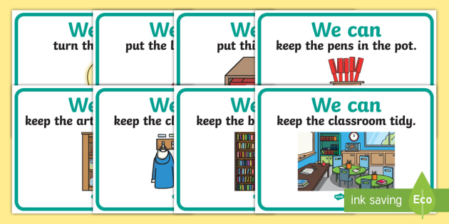 We Can Classroom Display Posters - Good manners, good behaviour, class management, behaviour management, SEN, polite, indoor voice - which classroom area?