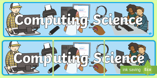 Computing Science Display Banner CfE - display, banner, cfe