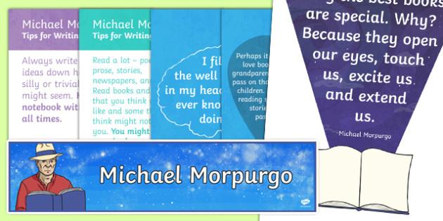 Michael Morpurgo Display Pack-Scottish