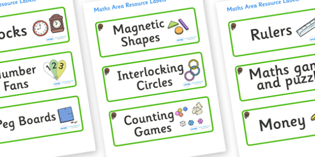Beaver Themed Editable Maths Area Resource Labels - Themed maths resource labels, maths area resources, Label template, Resource Label, Name Labels, Editable Labels, Drawer Labels, KS1 Labels, Foundation Labels, Foundation Stage Labels, Teaching Labe