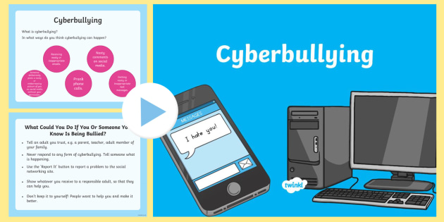 Cyberbullying Assembly PowerPoint - assembly, cyberbullying