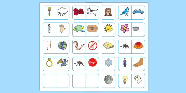 Compound Word Dominoes Game - compound word, dominoes, game, dominoes, game, activity, compound, word, words, images, match, dominoe, fun