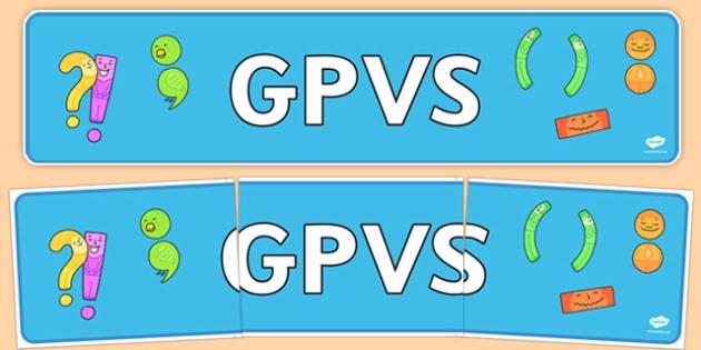 GPVS Display Banner - gpvs, display banner, display, banner, classroom