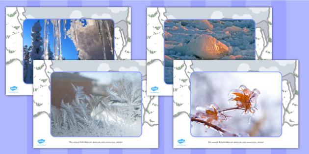 Ice Display Photos - displays, photo, visual, aids, visuals