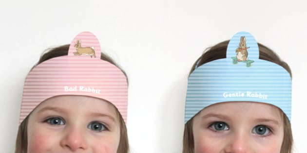 Beatrix Potter - The Story of a Fierce Bad Rabbit Role Play Headband - beatrix potter, fierce, bad, rabbit