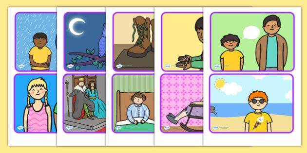 Conversation Starter Prompt Cards - conversation, conversation starter, prompt cards, word cards, key words, key word cards, visual aids, conversation card