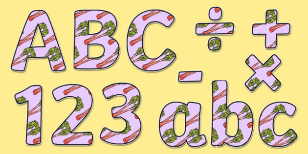 Rhubarb Display Lettering - vegetable patch, grow, growing, plant, british, ks1, ks2, garden, outside,