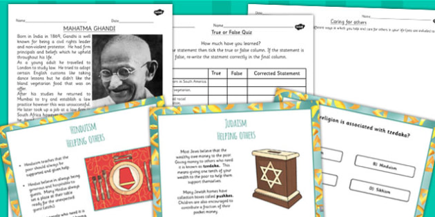 Right and Wrong Buddhist Jewish and Hindu Beliefs Lesson Teaching