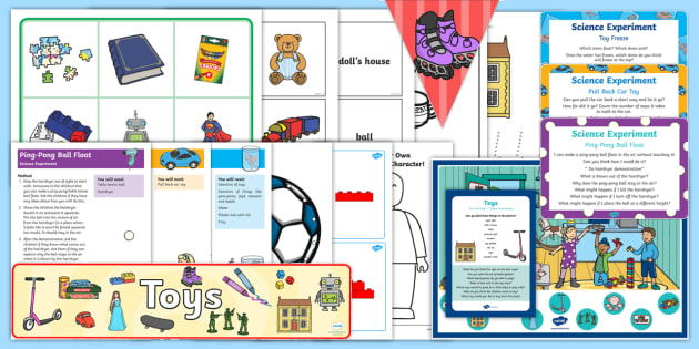 Toys Childminder EYFS Resource Pack - Toys, childminding, child minder, dough, malleable, lego,