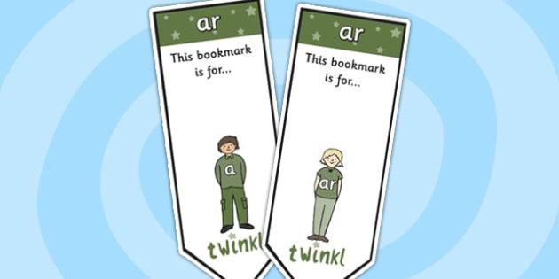 ar Sound Family Editable Bookmarks - ar sound family, editable bookmarks, bookmarks, editable, behaviour management, classroom management, rewards, awards