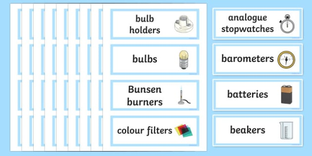 Science Cupboard Labels (Extra) - science cupboard labels, science, subject, school, area, label, cupboard, Resource Labels, Name Labels, Editable Labels, Drawer Labels, Coat Peg Labels, Peg Label, KS1 Labels, Foundation Labels, Foundation Stage Labe