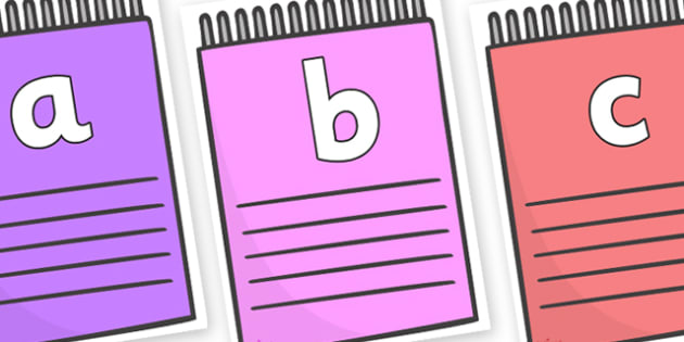 Phoneme Set on Notepads - Phoneme set, phonemes, phoneme, Letters and Sounds, DfES, display, Phase 1, Phase 2, Phase 3, Phase 5, Foundation, Literacy