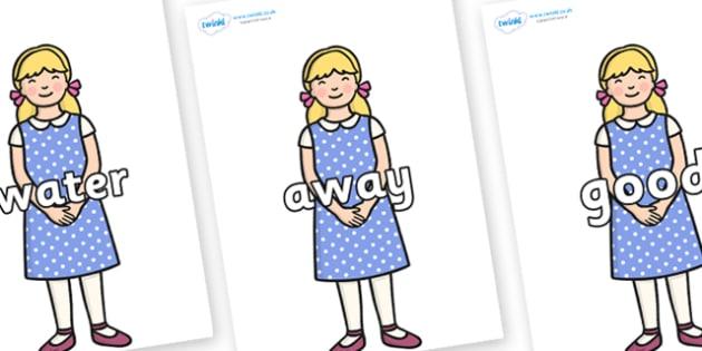 Next 200 Common Words on Goldilocks - Next 200 Common Words on  - DfES Letters and Sounds, Letters and Sounds, Letters and sounds words, Common words, 200 common words