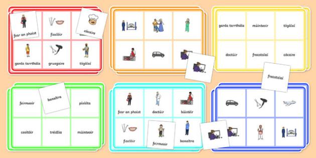 Slite Beatha Bingo Gaeilge - slite beatha bingo, irish, gaeilge, slite beatha, bingo, game, activity