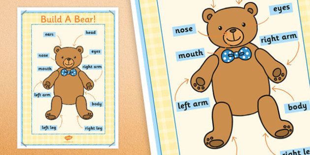 Large Format Build a Bear Poster - build a bear, poster, display
