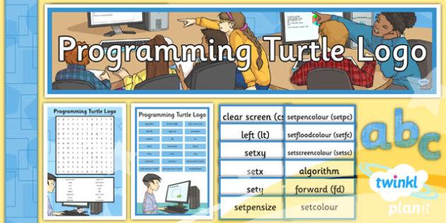 PlanIt - Computing Year 4 - Programming Turtle Logo Unit Additional Resources