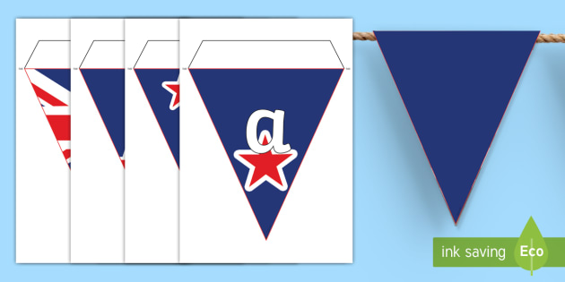 New Zealand Kia Ora Flag Display Bunting Te Reo Māori - New Zealand Social Sciences, NZ, Social Studies, flag, Aotearoa, Kia Ora