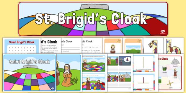 Saint Brigid's Day Resource Pack - Saint Brigid, close activity, solutions, reading, Ireland