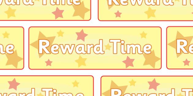 Reward Time Double Poster - reward, award, reward time, display, banner, sign, poster, rewarding