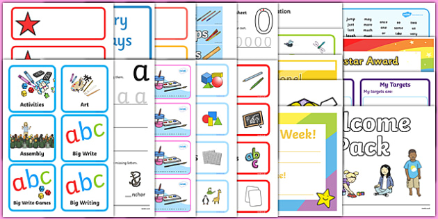 KS1 Classroom Set Up Pack for NQTs - class set up, NQT Pack