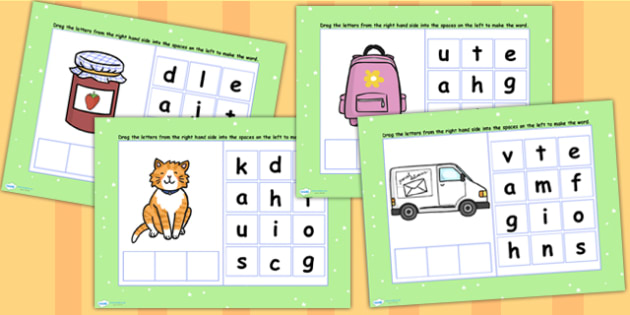 CVC Words A Spelling Flipchart - CVC words, spellings, flipchart