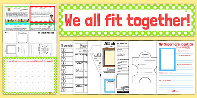 Getting to Know You: New Class Pack KS2 - new class, pack, ks2