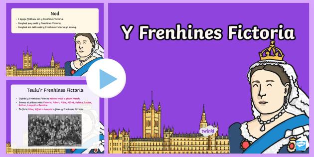Pŵerbwynt Y Frenhines Victoria A Gweithgaredd Ffeil Ffiethiau
