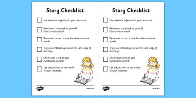 Story Mountain Guide Writing Prompts Checklist - writing guides
